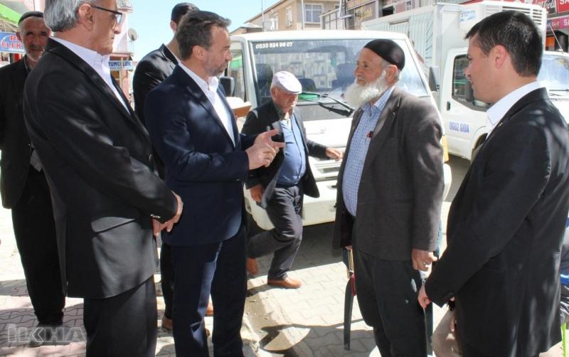 HÜDA PAR'dan Karakoçan esnafına ziyaret