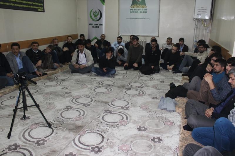 Elazığ'da Mustazaflar Haftası Etkinliği düzenlendi