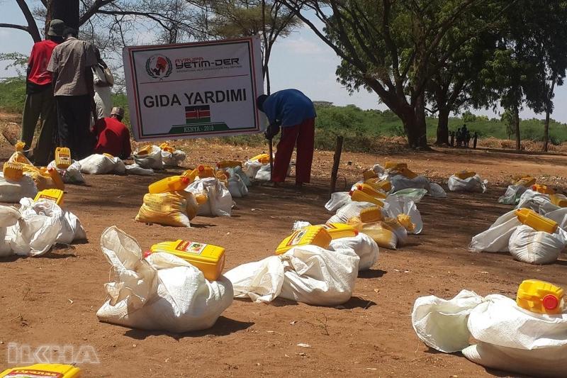 Avrupa Yetim-Der'den binlerce Afrikalıya yardım eli