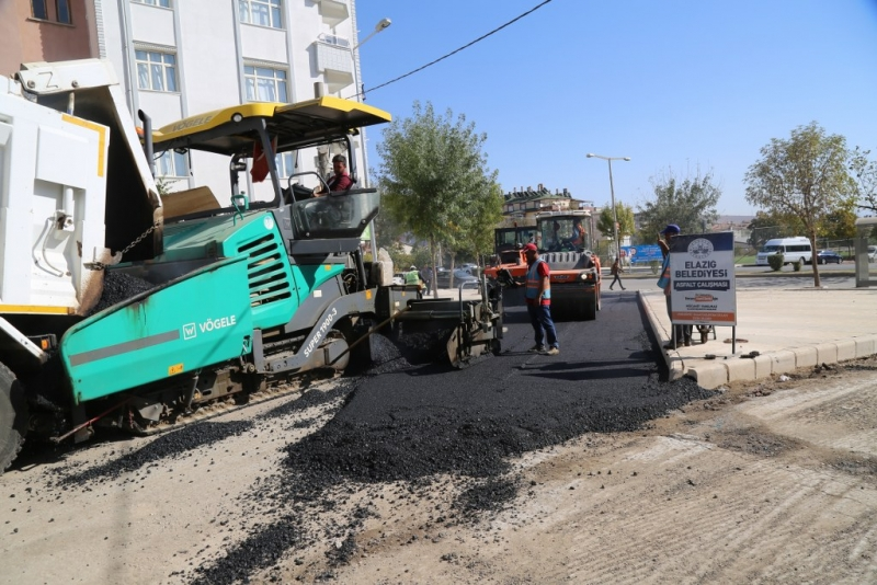 Belediye asfalt serim çalışmasını duyurdu