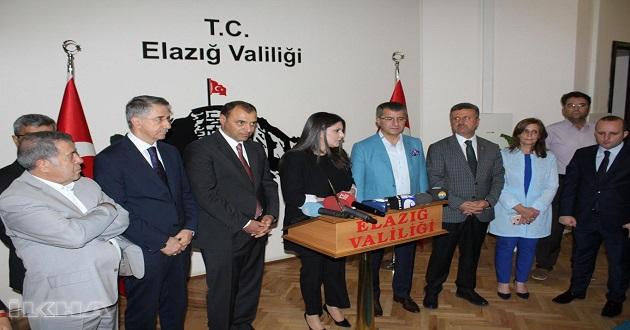 Çalışma ve Sosyal Güvenlik Bakanı Sarıeroğlu Elazığ'da