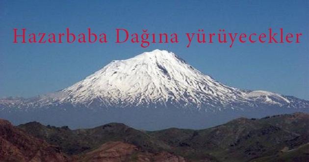 Hazarbaba Dağ Doğa yürüyüşü düzenleniyor