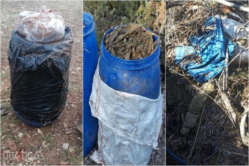 Diyarbakır'da PKK operasyonunda 2 ton 379 kilo esrar ele geçirildi