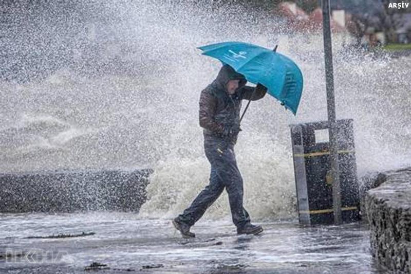 Elazığ Dikkat! sağnak yağış geliyor