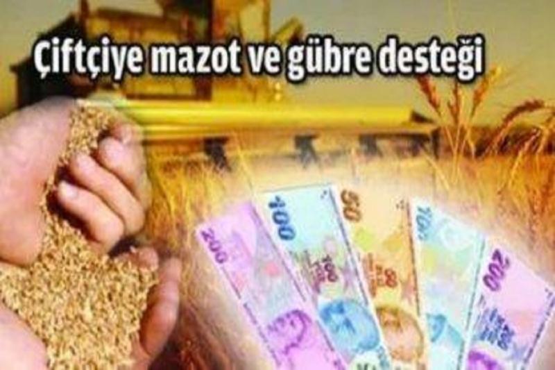 Elazığ ve İlçelerinde Mazot ve Gübre Destekleme Ödemeleri Miktarları Açıklandı
