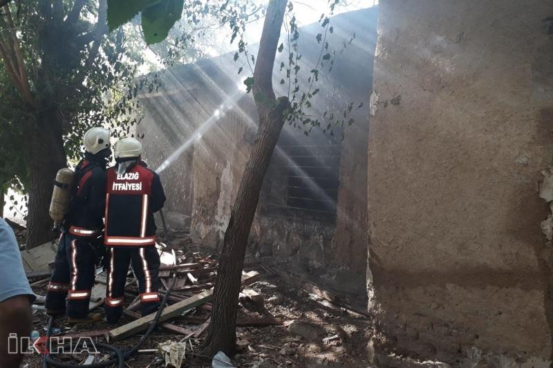 Elazığ'da fırın yangını