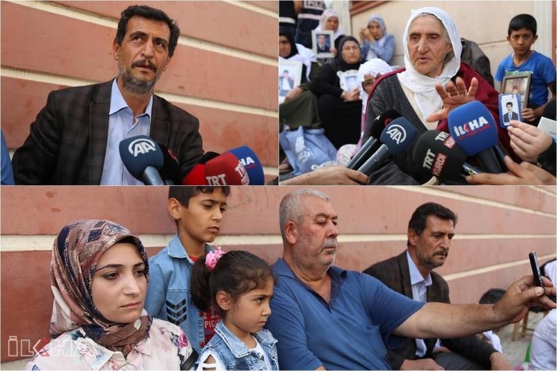 Evlat nöbetine 3 aile daha katıldı-VİDEO