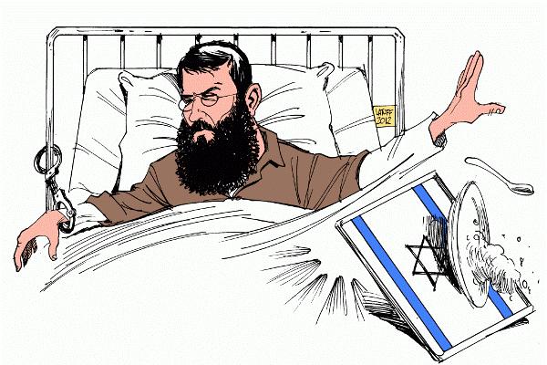 Filistinli mahkumlar açlık grevinde