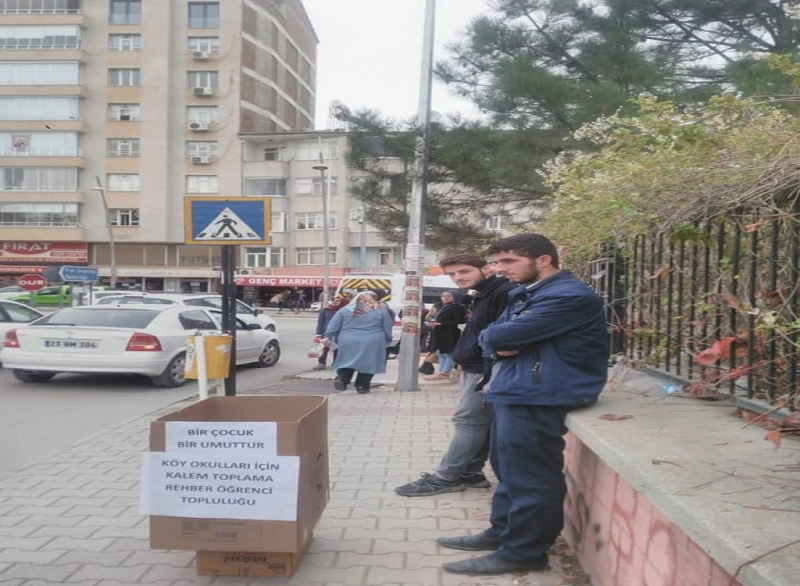 Fırat Üniversitesi Rehber Öğrenci Topluluğundan Bir Çocuk Bir Umuttur Kampanyası