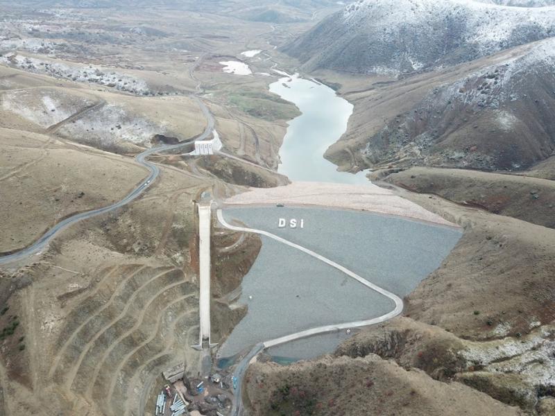 Hamzabey Barajında Son Durum