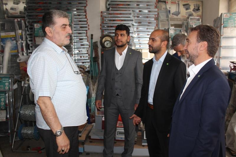 HÜDA PAR Elazığ milletvekili adaylarından esnaf ziyareti