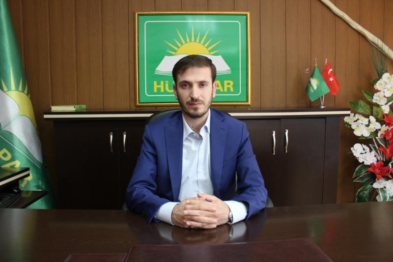 HÜDA PAR İl Başkanı Yasin Kavaklı, Regaip gecesi mesajı paylaştı.