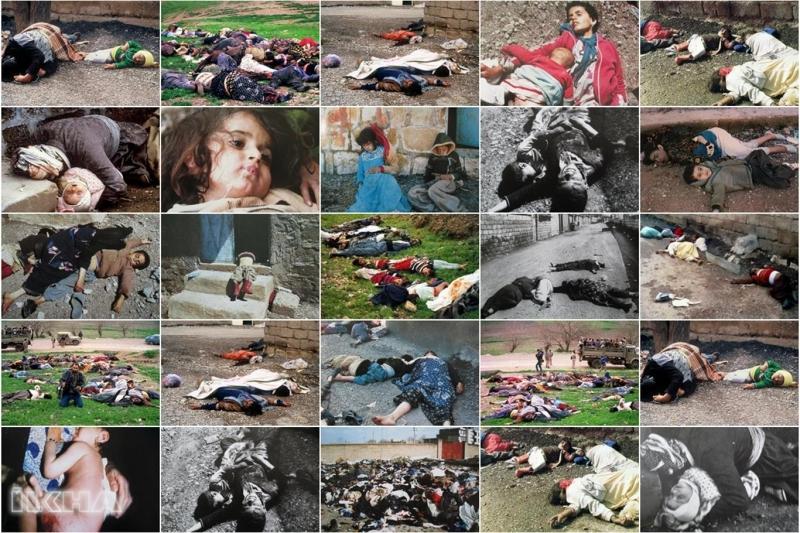 İnsanlığın kara lekesi Halepçe katliamının 31. yıldönümü