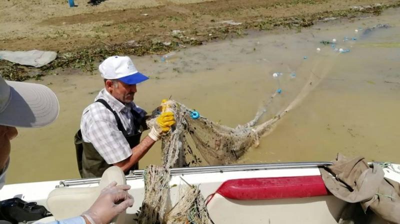 Kaçak Avlanan Balıkçıların Ağlarına El Konuldu