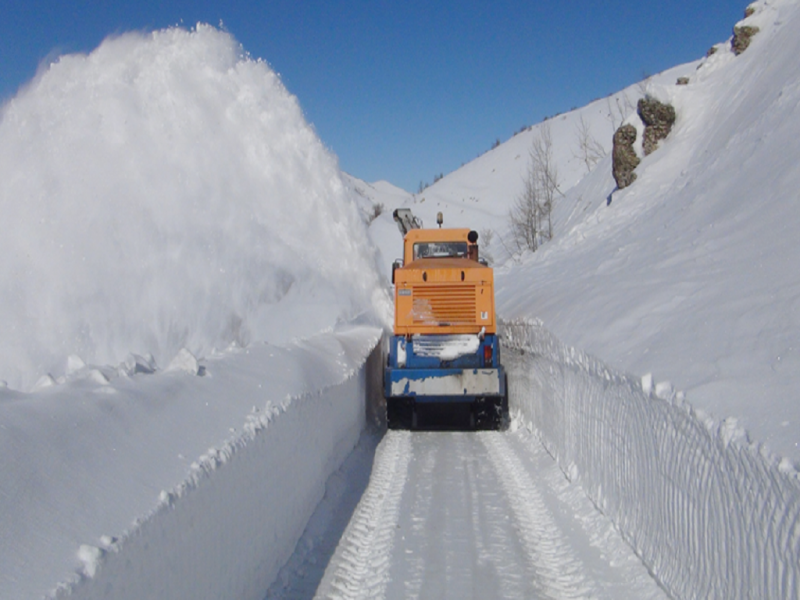 Kar 73 Köy Yolunu Kapattı