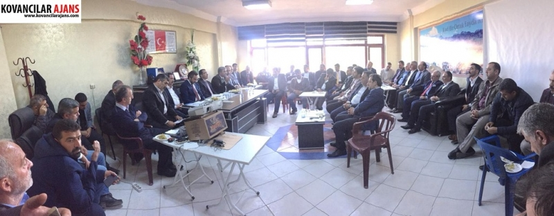 Kovancılar`da 1. Organize Sanayi Çalıştayı Düzenlendi