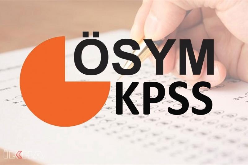 KPSS başvuruları yarın başlıyor