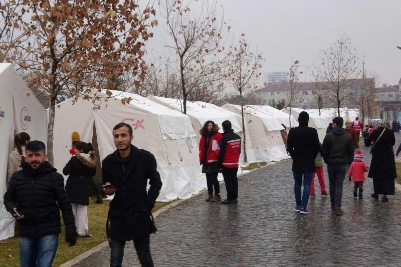 Meteorolojiden deprem bölgesi için kar uyarısı