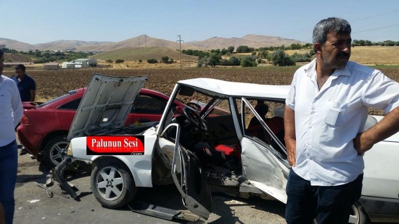 Palu Kovancılar Arasında Kaza: 6 Yaralı-VİDEO