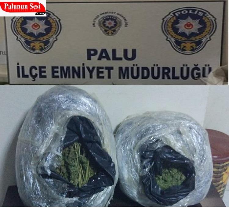 Palu`da Uyuşturucu Operasyonu: 4 Gözaltı