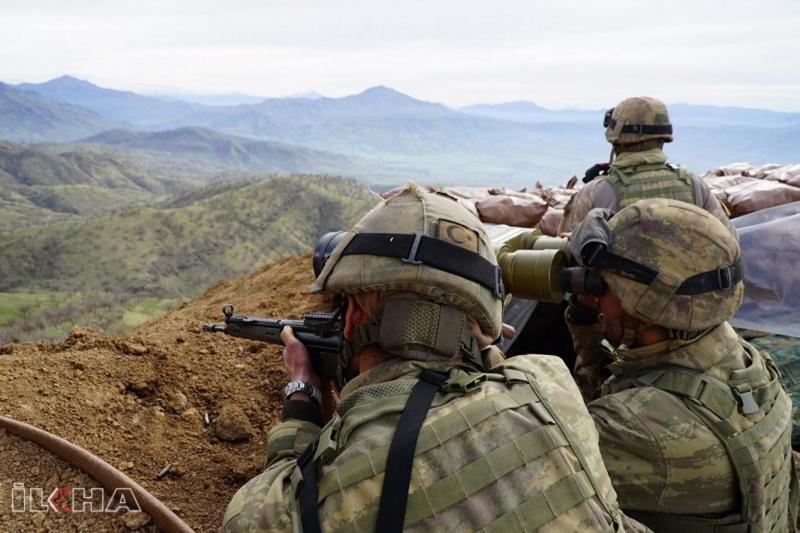 Saldırı hazırlığındaki 6 PKK'li öldürüldü
