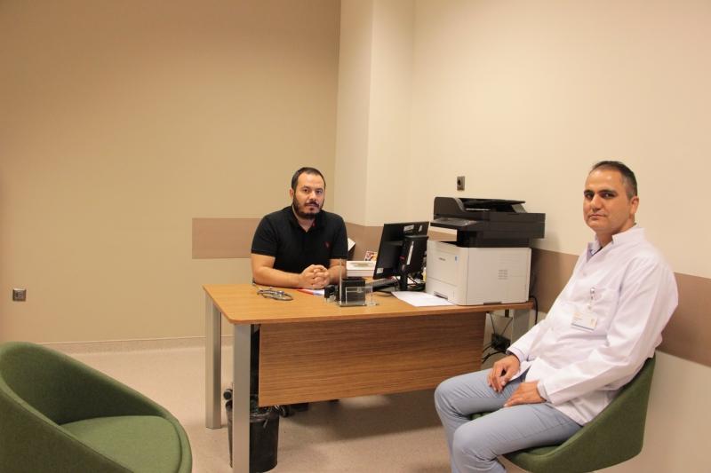 Şehir Hastanesinde Onkoloji Uzmanı Göreve Başladı