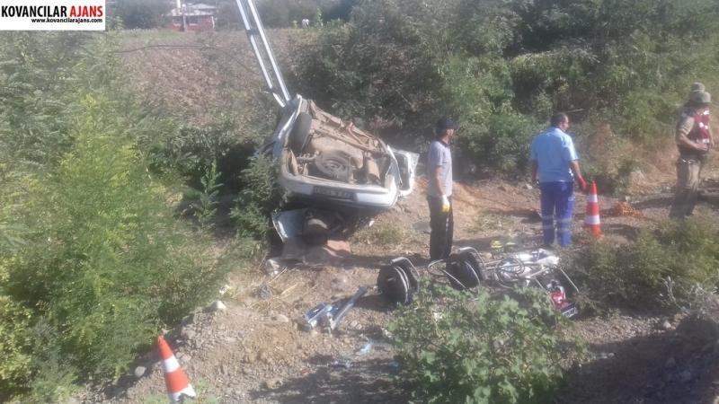 Yarımca`da Ölüm Kavşağında Yine Kaza: 1 ölü