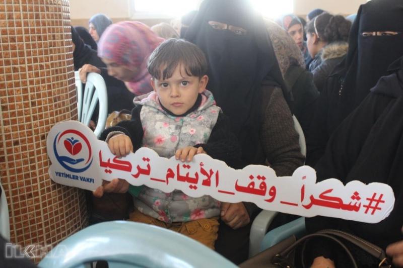 Yetimler Vakfının Filistinli yetimlere yardımları sürüyor